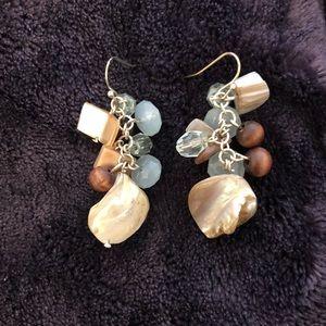 Shell Dangly Earrings